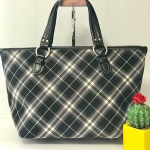 Authentic Burberry Black Tote